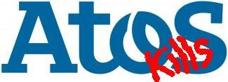 ATOS kills logo