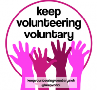 Unlike Help To Work, the new Keep Volunteering Voluntary campaign has already been a huge success.
