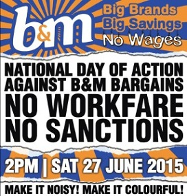 Join the Day of Action Against B&M Stores on June 27th.